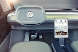 volkswagen electric concept volkswagen i d buzz concept vw u0027s electric push continues at