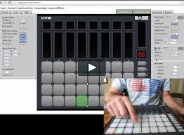 editing and saving led colors on the livid base on vimeo