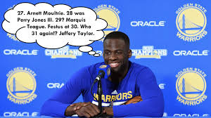 Harrison Barnes Draft Class Draymond Green Names All 34 Players Drafted Before Him In The 2012