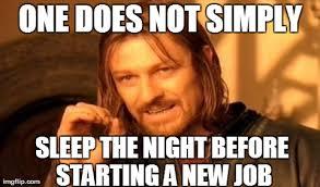 New Job Meme - thanks brain imgflip