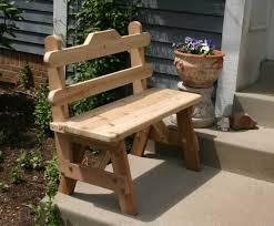 cedar bench rustic bench cedar benches outdoor bench rustic