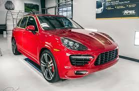 porsche cayenne matte red 2014 review seattle auto detail xpel car wraps u0026 more