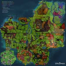 Maps Place Planet Calypso Maps