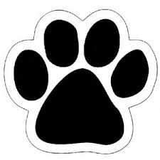 paw print template paw print stencil printable free clipart best sewing tips