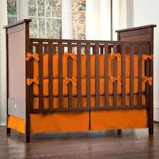 Orange Crib Bedding Sets Solid Orange Baby Crib Bedding Collection Nursery Decor Nursery