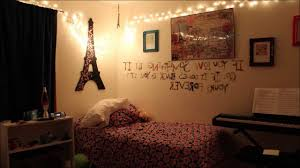 Hanging Wall Lights Bedroom Small Rustic Teenage Bedroom Design With White Canopy Bed
