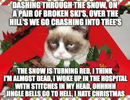 Over The Hill Meme - good thing christmas is over imgflip