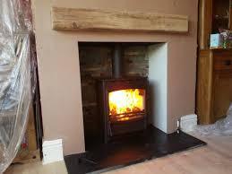 fresh fireplace with wood burner home design furniture decorating