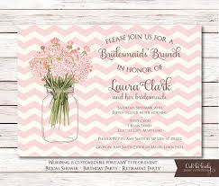 bridesmaid brunch invitations bridal shower invitation birthday invite retirement party