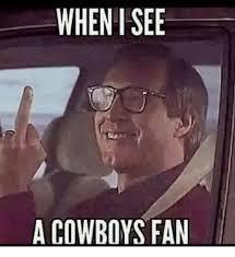 Dallas Cowboys Memes - when i see a cowboys fan dallas cowboys meme on me me