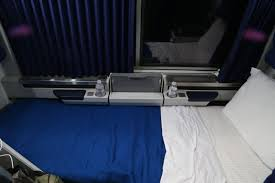 amtrak viewliner roomette geeky girl engineer lower bunk created from the chairs pulled down