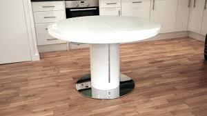 Ikea White Pedestal Table White Gloss Dining Table Extending U2013 Mitventures Co