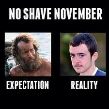 No Shave November Memes - let the beards begin rtr rethinkreality noshave