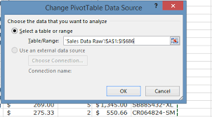 Change Pivot Table Data Range Excel Pivot Table Tutorial The Ultimate Guide To Creating Pivot
