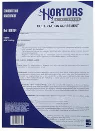 cohabitation agreement common law partners hortors sa diaries