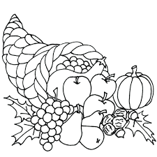 thanksgiving turkey dinner coloring pages funny to print place
