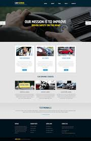 website design 45729 traffic car custom website design