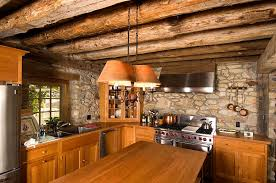 timber kitchen designs small kitchen ideas with rustic stone walls and timber beam