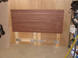 make a cheap fold down workbench 4 steps with pictures