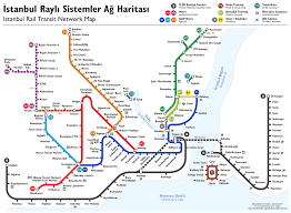 Istanbul Turkey Map File Istanbul Rapid Transit Map Schematic Png Wikimedia Commons