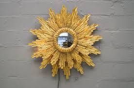 mid century starburst mirror cool french midcentury sunburst