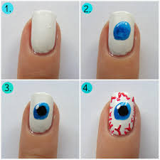 halloween nails eyeball nail art tutorial oh hey there rachel