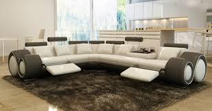 canapé limoges déco canape d angle cuir blanc design limoges 12 07180400 leroy