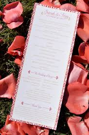 Sample Of Wedding Program Wedding Invitation Samples Perfect Wedding Guide