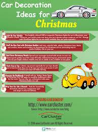 car decoration ideas for christmas carcluster com blog
