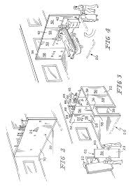 patent us8458962 wall unit having concealable service outlets