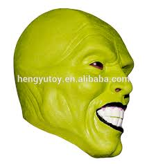 Mask Movie Halloween Costume Aliexpress Buy Details Loki Latex Mask Jim Carrey Costume