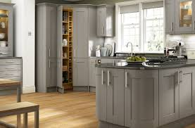 Grey Gloss Kitchen Cabinets by Kitchen Decorating Light Gray Cabinets Brown Grey Kitchen