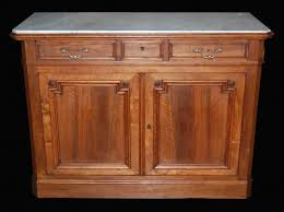 Marble Top Sideboards And Buffets Antique French Walnut Marble Top Buffet Latique Antiques