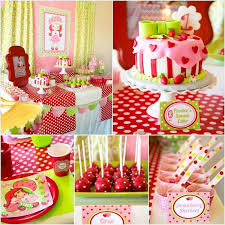 strawberry shortcake birthday party ideas strawberry shortcake birthday party ideas 3 year birthday