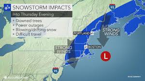 New England Weather Map by Blizzard Conditions Slam New England While Dangerous Freeze Up