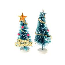 online shop sale mini small pine trees with star snow