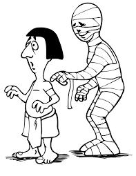 mummy coloring mummy ancient egyptian