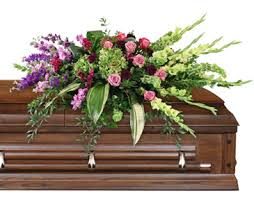 casket spray calming memories casket spray in edgerton wi edgerton floral