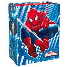 spiderman thanksgiving spider man large gift bag 13