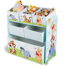 Disney Toy Organizer Winnie The Pooh Wooden Multi Bin Organiser Toysrus Australia