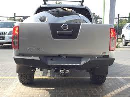 nissan frontier rear bumper replacement rhino 4 4 nissan navara rear evolution bumper