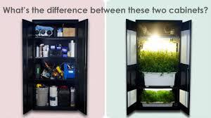 building a grow cabinet grow box stealth grow box grow cabinet youtube