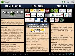 Best Resume App Android by Visual Cv Android Apps On Google Play