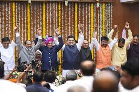 Maharashtra Cabinet Ministers Didn U0027t U0027blackmail U0027 Bjp For Cabinet Berths Uddhav Rajya Sabha Tv