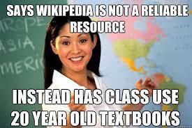 Meme Wikipedia - teacher responds to bad teacher memes