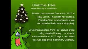 christmas traditions christmas trees their history and