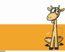 giraffe cartoon powerpoint template ppt template projects to try