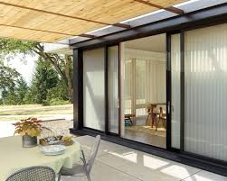 Solar Shades For Patio Doors Plantation Shutters For Sliding Glass Doors Cost Shades