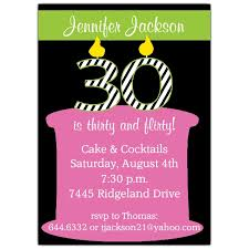 flirty and thirty birthday invitations paperstyle