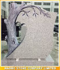 grave tombstone quarry customize price carved tree granite grave